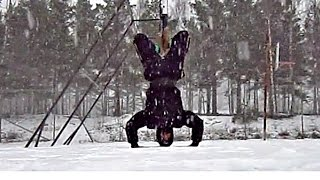 Calisthenics Winter Workout Motivation