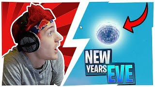 NINJA REACTS TO *LEAKED* NEW YEARS EVE EVENT IN FORTNITE!