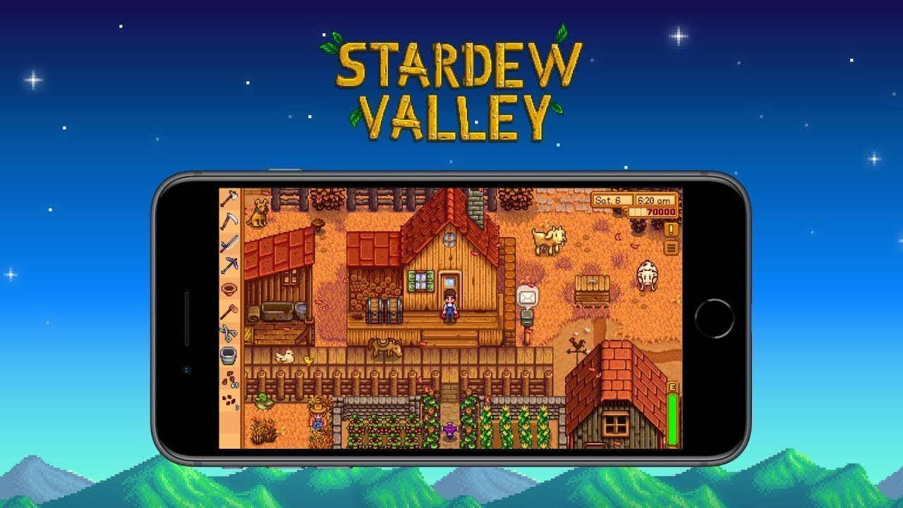 Stardew Valley – Kommt für iOS und Android: Mobile Trailer - YouTube