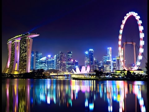 Landscape of city Singapore