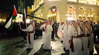 Traditional Arabic Sword Dance, Doha Qatar