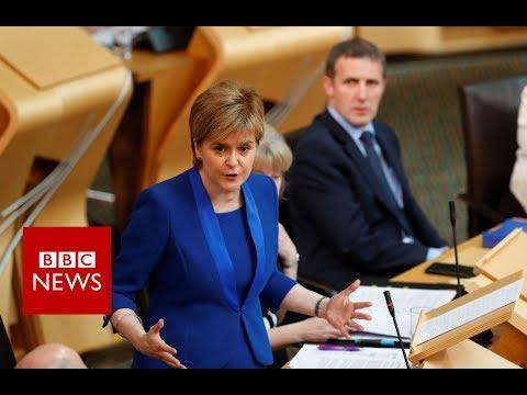 Nicola Sturgeon to 'reset' independence referendum plan  - BBC News