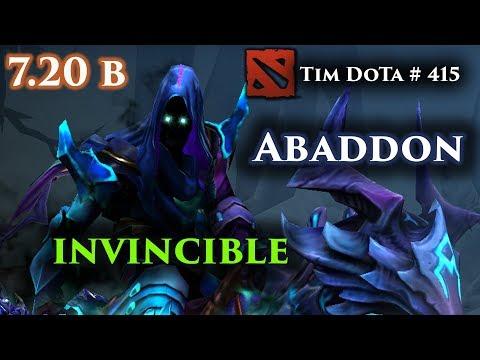 Abaddon | 7.20c | He is Broke |  Tim Dota 415