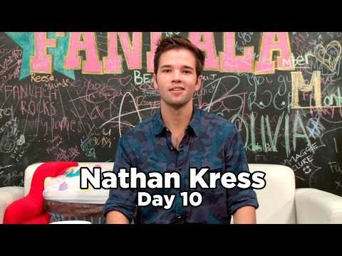 Nathan Kress Answers Twitter Questions! 10 Days of Nathan Kress, Day 10