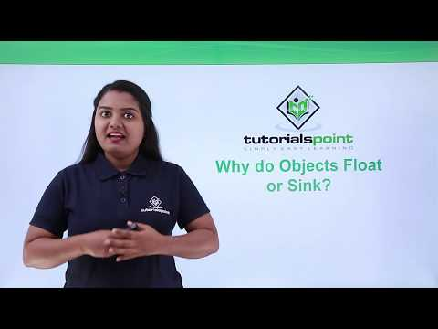 Class 9th Physics - GRAVITATION - Why do objects float or