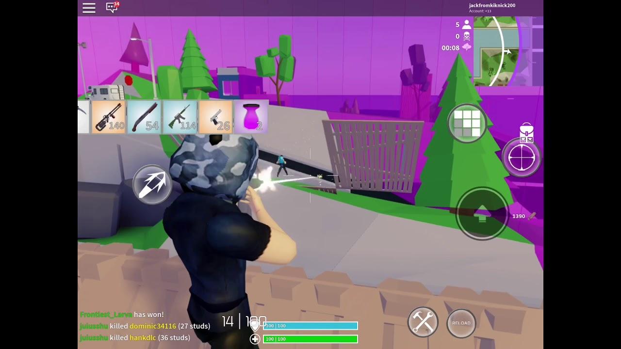 played strucid zone wars strucid mobile gameplay