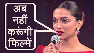 Padmaavat: Deepika Padukone says NO to movies now ! | FilmiBeat