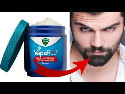 How To Use Vicks Vapor Rub For FASTER & BETTER  Beard Growth | HAIR GROWTH TRICK!!!