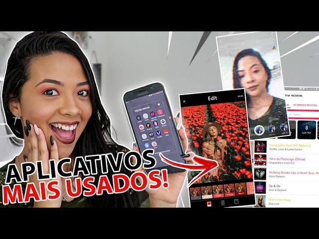 APLICATIVOS + USADOS DO MOMENTO!!  *ANDROID E IOS*