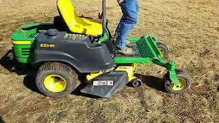 John deere ztrak mowers tracking adjustment video john deere ez track z225 zero turn riding lawn mower fandeluxe Images