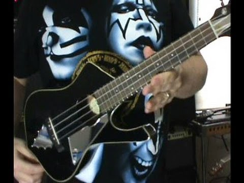 modified ibanez ps10 paul stanley ukulele uic10 electric iceman by scott grove youtube. Black Bedroom Furniture Sets. Home Design Ideas