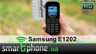 Видео обзор телефона Samsung E1202(Видео обзор мобильного телефона Samsung E1202 (GT-E1202) от портала Smartphone.ua. Цена, возможности и преимущества устройст..., 2012-10-25T14:07:16.000Z)