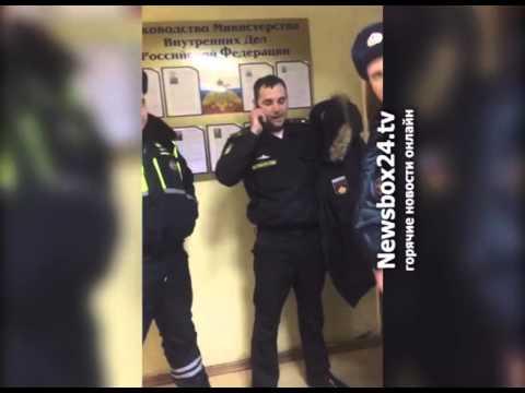Нетрезвый военнослужащий устроил дебош в отделе полиции Фокино