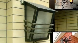 10 Современный кованый фонарь настенный светильник фасадный на улице