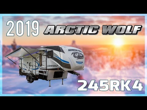 Repeat 2020 Forest River Arctic Wolf 245RK4 5th Wheel For Sale