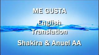 Me Gusta By Shakira & Anuel AA English Translation (Lyrics)