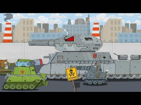 MONSTER RATTE cartoons about tanks