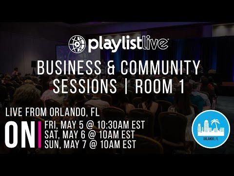 Sat. Business & Community Sessions Room One