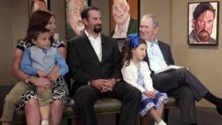 George W  Bush captures veteran's love of golf in portrait