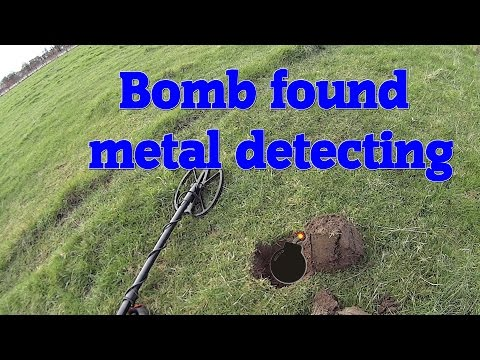Thumbnail: Metal detecting UK, oh crap I just dug up a live bomb metal detecting!