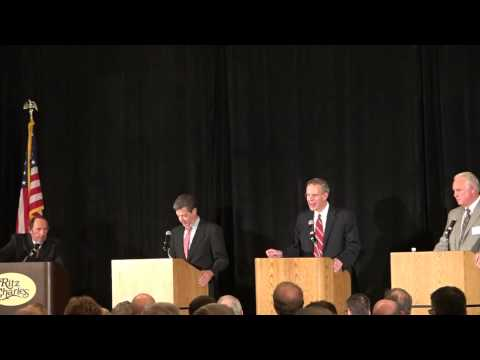 Overland Park Chamber of Commerce Debate: Sam Brownback, Paul Davis, Keen Umbehr