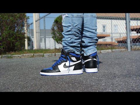 Air Jordan 1 High Og Royal Toe Review On Feet Must Watch Youtube
