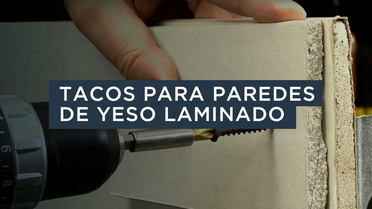 Elegir Tacos Para Paredes De Yeso Laminado Index