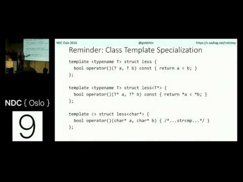 Introduction to C++ Template Metaprogramming - Sasha Goldshtein