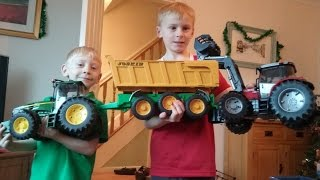 Unexpected tractor toys arrive from Canada
