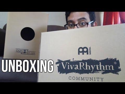 Meinl Viva Rhythm Cajón 2 Go | Unboxing Y Prueba