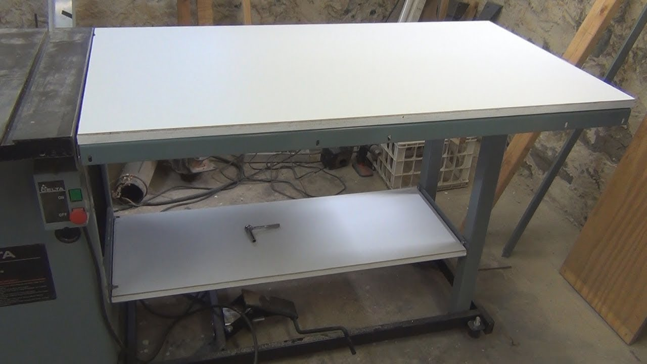 Delta Unisaw Extension Table Assembly