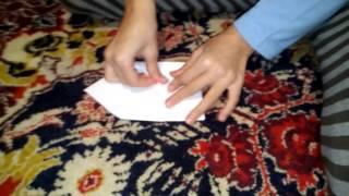 Как сделать петуха из бумаги. Часть1