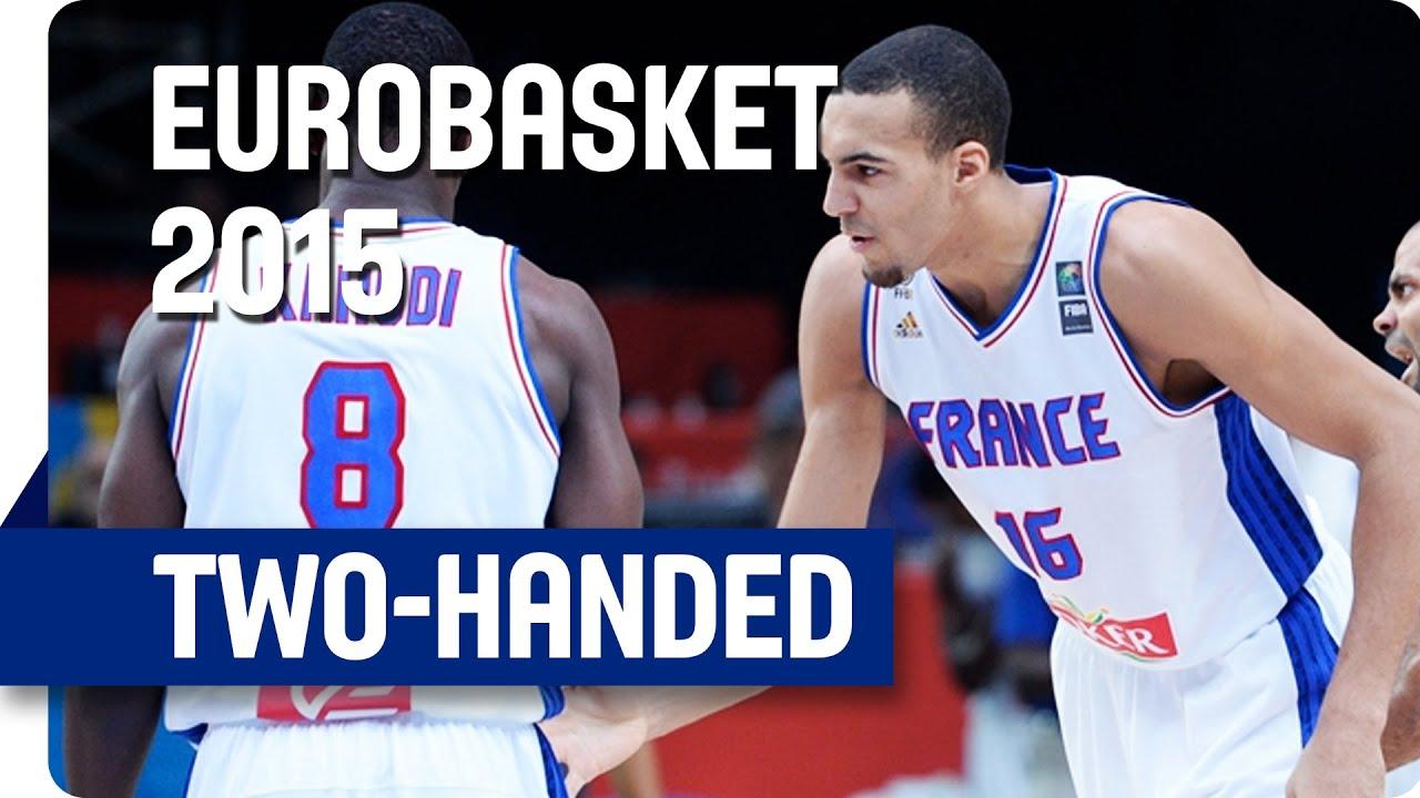 What a Dunk by Gobert - EuroBasket 2015