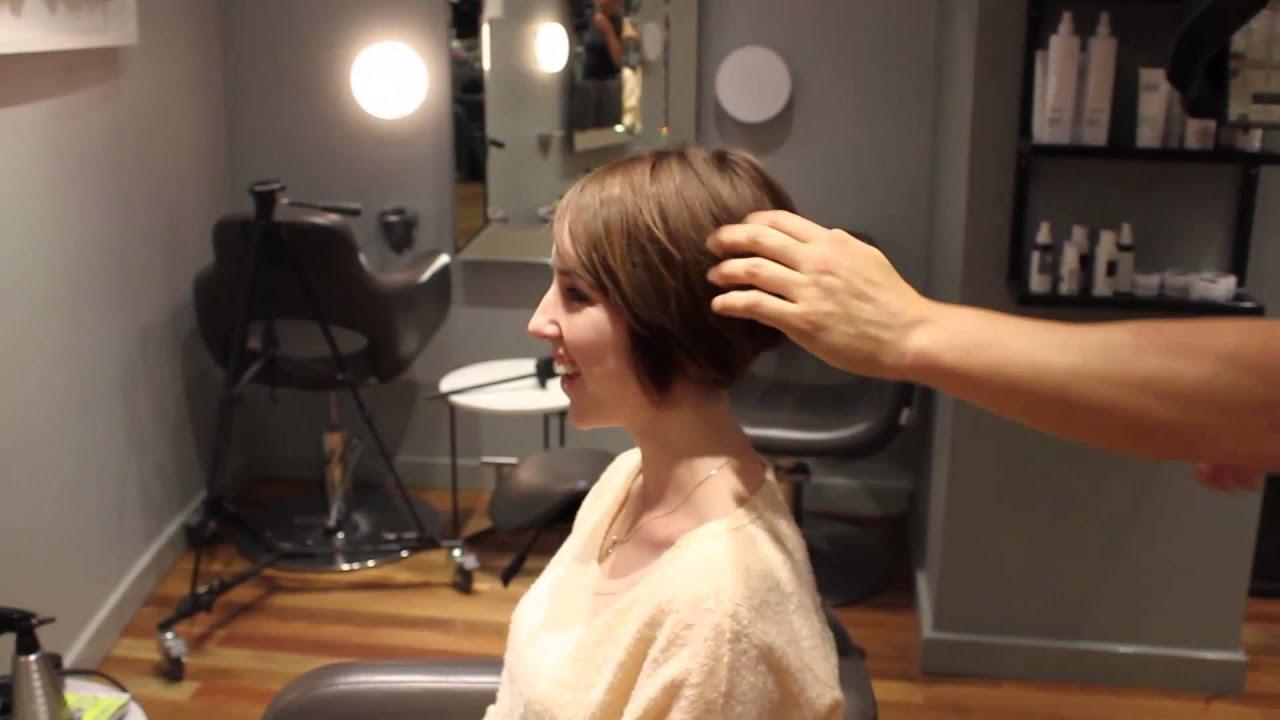 Textured Graduated Bob Model Jessica Rolfe Final YouTube