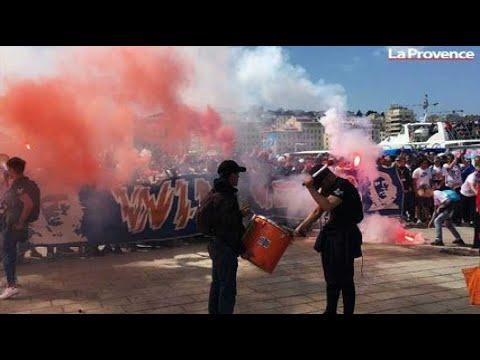 OM-Atlético : une ferveur incroyable avant de prendre la direction de Lyon