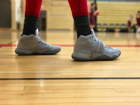 Cleaning up the Kyrie 2 Battle Greys!!