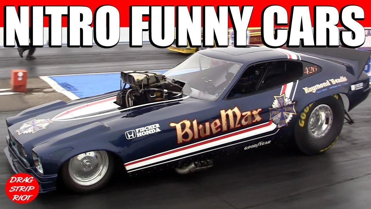 2011 Nitro Nostalgia Funny Cars Drag Racing March Meet