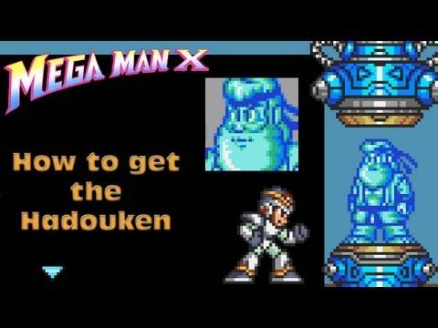 How to get the Hadouken in Megaman X