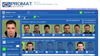 Promat Video Identification Parade Software Demonstration
