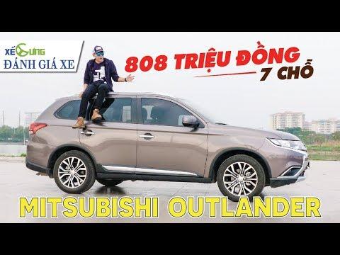 """Đánh giá xe Mitsubishi Outlander: giá rẻ, 7 chỗ, nhưng có thực sự """"hời""""?"""