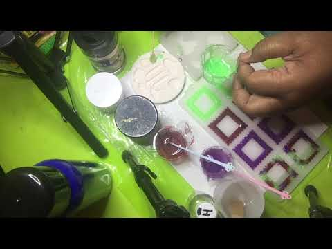 Making Resin Picture Frame