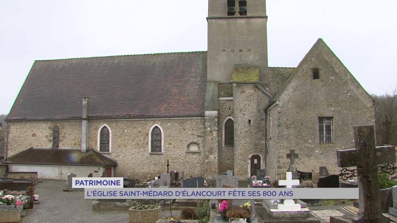 Patrimoine : une Eglise de 800 ans à Elancourt