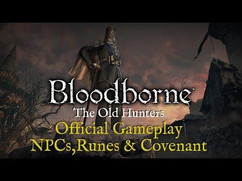 [Translated] Bloodborne DLC Developer ➤ The League, New Rune, Gameplay