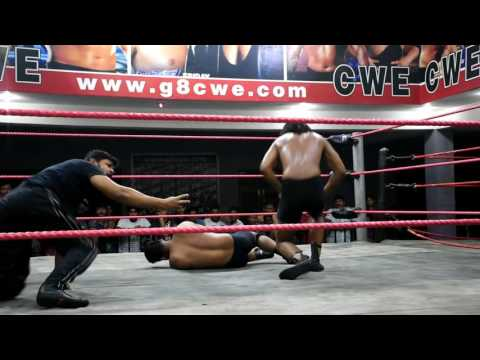 THE GREAT KHALI  CWE  SUPERSTAR'S Ravi Prajapati vs Pankaj Date:-10.09.2016