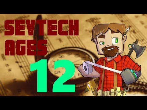 1.12 Modded Minecraft SevTech Ages: Episode 12: Blood Altar and an Alloy Kiln!
