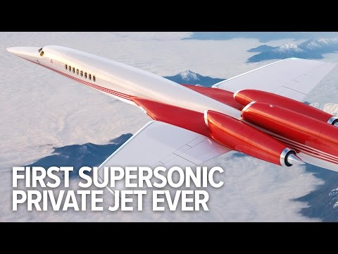 The world's first supersonic private jet: Aerion AS2