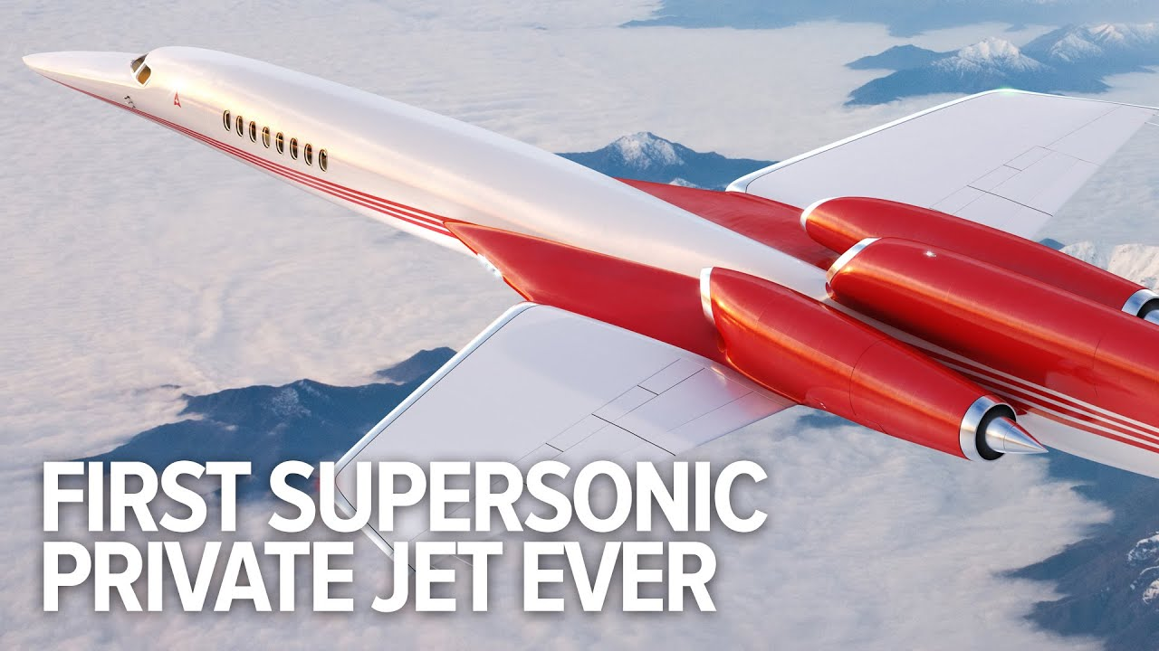 Aerion AS2 Is The Worlds First Supersonic Business Jet