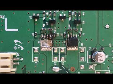 Repair SR8855 Navibot C01 Error