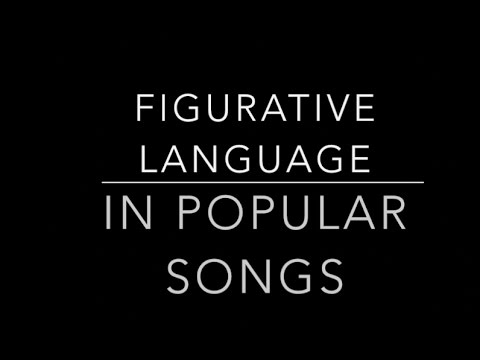 Simile, Metaphor, Hyperbole, Personification, Onomatopoeia, and Idioms in Popular Songs