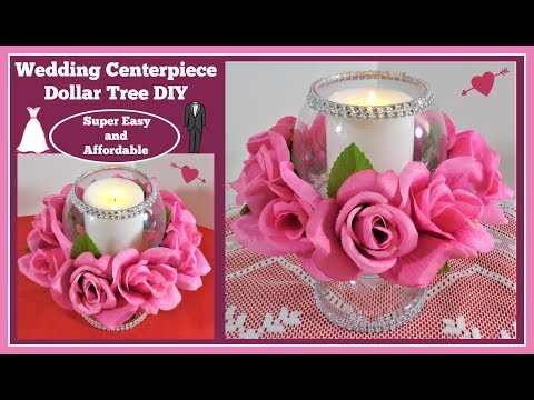 💍Wedding Centerpiece Globe Candle Holder💍Dollar Tree DIY